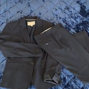 Pin striped Navy suit